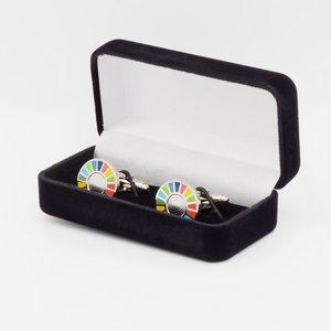 SDG Manchetknopen in Velours gift box